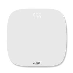 Elektroniczna waga  łazienkowa LED Gerlach GL 8166 do 180 kg biała