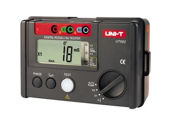 Miernik rezystancji Uni-T UT582+ przewody pomiarowe