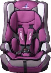 Fotelik samochodowy  Caretero VIVO fioletowy 9-36 kg podstawka