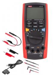 Miernik uniwersalny UT71A USB przewody pomiarowe krokodylki przewód z krokodylkami