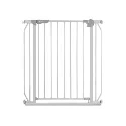 Bramka barierka ochronna zabezpieczająca drzwi schody Lionelo Truus Slim rozporowa do 105 cm - szara
