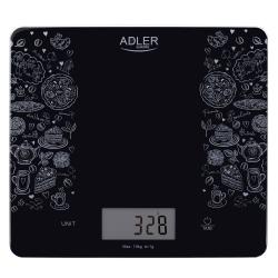 Elektroniczna szklana waga kuchenna Adler AD 3171 do 10 kg