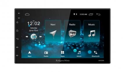 Radio samochodowe Kruger&Matz 2DIN 7'' 4x45W WiFi Bluetooth GPS