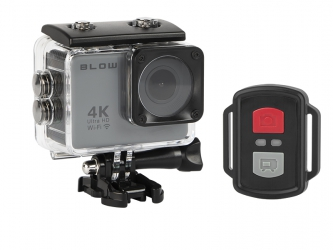 Kamera sportowa Blow Pro4U 4K Wi-Fi + wodoodporna obudowa + pilot