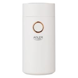 Młynek do kawy Adler AD 4446wg biały/złoty