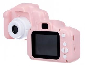 Kamera aparat dla dzieci Forever Smile SKC-100 różowa