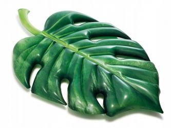 Materac do pływania zabawka do pływania dmuchany liść palmowy monster INTEX 213cm x 142cm