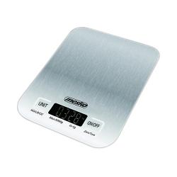 Elektroniczna metalowa waga kuchenna inox Mesko MS 3169 white do 5 kg