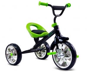 Rowerek trójkołowy dziecięcy Caretero Toyz York z pedałami - zielony