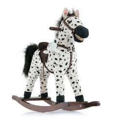 Koń na biegunach Milly Mally Mustang jasny brąz interaktywny konik bujany
