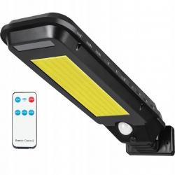 Lampa solarna LED LTC 30W z czujnikiem ruchu i zmierzchu + pilot