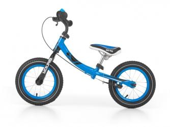 Rowerek biegowy z dzwonkiem i obracaną ramą Milly Mally Young niebieski