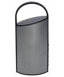 Przenośny Głośnik bluetooth BLASTER SILVER FM microUSB microSD AUX