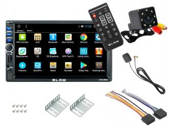 "Radio BLOW AVH-9900 + pilot 2DIN 7"" GPS Android BT GPS USB + kamera cofania"