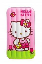 Nadmuchiwany materac łóżko dziecięce Hello Kitty Intex 88cm x 157cm x 18cm