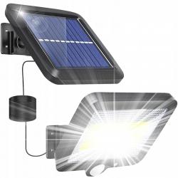 Lampa solarna halogen LED LTC z czujnikiem ruchu i zmierzchu