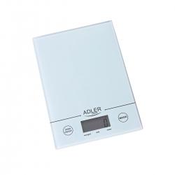 Elektroniczna waga kuchenna Adler AD 3138w biała