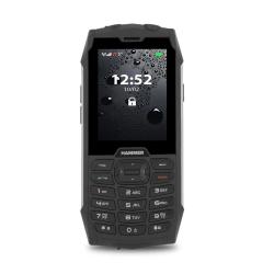 Telefon komórkowy telefon dla seniora myPhone Hammer 4+ srebrny wodoodporny