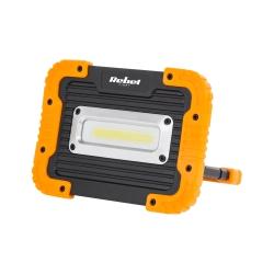 Halogen lampa LED naświetlacz akumulatorowy COB 10W USB 4000K