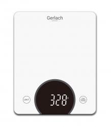 Elektroniczna waga kuchenna LED Gerlach GL 3172w do 10 kg biała