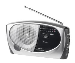 Radio przenośne AM / FM AZUSA model PR-111 - promocja