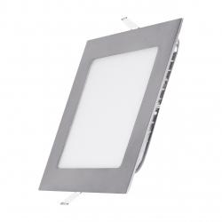 Panel LED 170x170mm 12W podtynkowy PLAFON sufitowy 4000K-W - nikiel