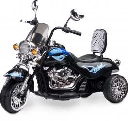 Motocykl motor na akumulator Caretero Toyz Rebel akumulatorowiec - czarny