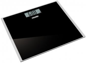 Elektroniczna waga  łazienkowa Mesko MS 8150b do 150 kg czarna