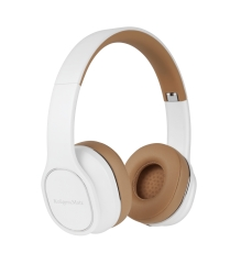 Bezprzewodowe słuchawki nauszne Kruger&Matz Soul 2 Wireless kolor biały + etui