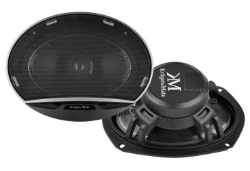 """Głośniki samochodowe Kruger&Matz 6x9"""" 150W 4 z maskownicami komplet"""