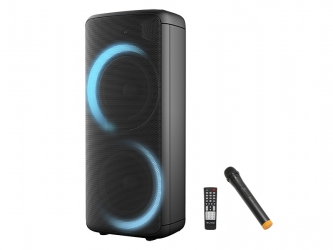 Duży głośnik Bluetooth BLOW Infinity LED FM USB microSD