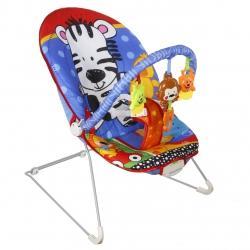 Leżaczek bujaczek fotelik dla dzieci zebra