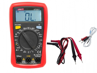 Miernik cyfrowy UNI-T UT33C+ Kable pomiarowe