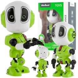 Interaktywny mówiący robot REBEL VOICE zielony
