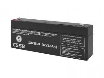 Akumulator żelowy XTREME 12V 2.3Ah