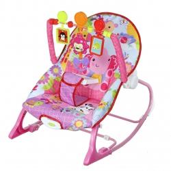 Leżaczek bujaczek fotelik dla dzieci słonik