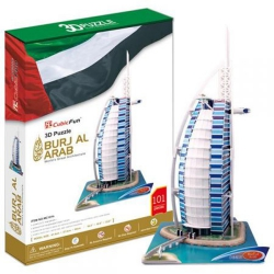 PUZZLE 3D Burj Al Arab CubicFun 101 XXL elementów