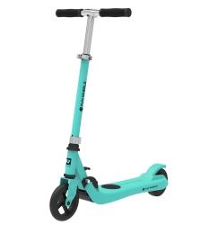 Hulajnoga elektryczna dla dzieci FUN WHEELS 100W 50kg - niebieska