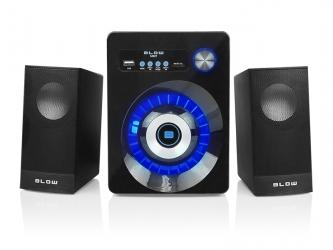Głośniki komputerowe 2.1 BLOW MS-27 Bluetooth USB SD FM AUX