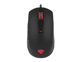 Mysz gamingowa dla graczy podświetlana z oprogramowaniem GENESIS KRYPTON 300 4000DPI RGB