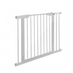 Bramka barierka ochronna zabezpieczająca drzwi schody Max4b biała