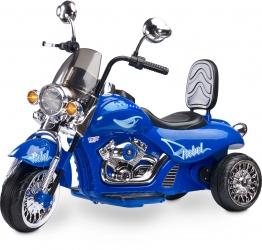 Motocykl motor na akumulator Caretero Toyz Rebel akumulatorowiec - niebieski