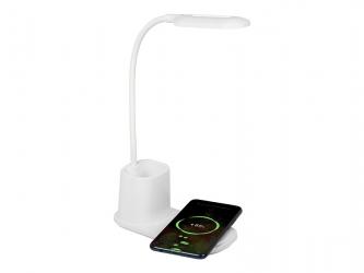 Lampka biurkowa LED BLOW LB-05 z ładowarką indukcyjną QC