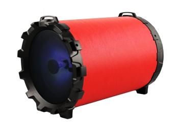 Głośnik bluetooth SoundTUBE 220 FM USB AUX microSD - czerwony