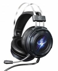 Słuchawki gamingowe nagłowne z mikrofonem REBELTEC THOR 7.1 USB