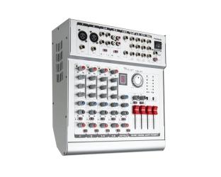 Mikser audio powermikser AZUSA PMX-6S z wbudowanym wzmacniaczem 2x210W 6 kanałów