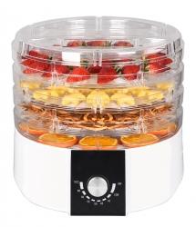 Suszarka do owoców warzyw grzybów i ziół 520W 4 kg