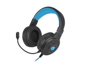 Słuchawki nauszne z mikrofonem FURY HELLCAT podświetlenie